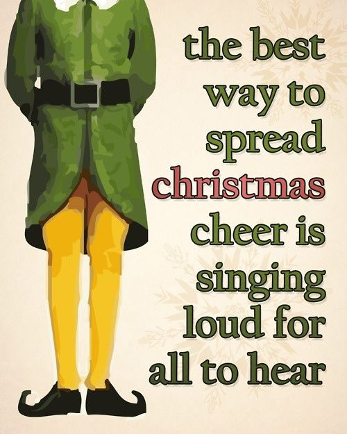 Which brings me to one of my favorite Christmas movies of all time-    ELF!