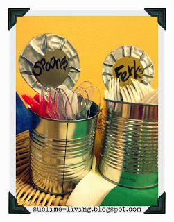 Redneck Forks & Spoons Table Decor SUBLIMEliving