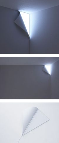 Peel Wall Light by YOY   Products I Love   Pinterest