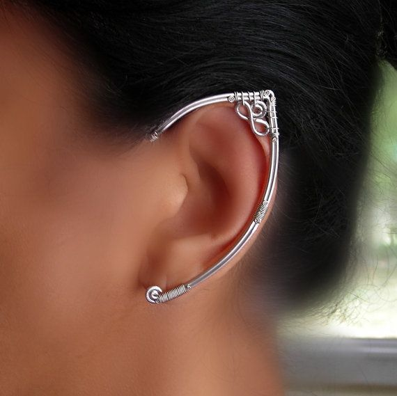 Ooo! Pretty! (from etsy) Elf Ear Wire Wrap $55.00