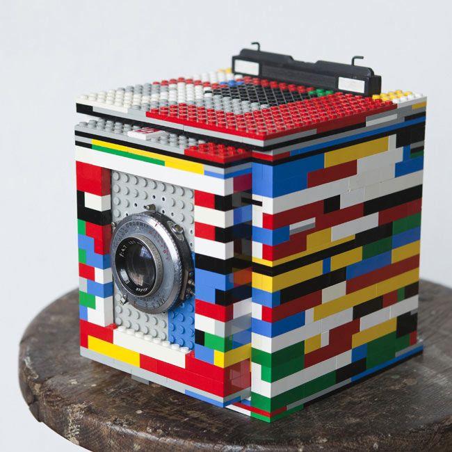 Legotron Medium Format Camera Built From Lego Bricks by Cary Norton