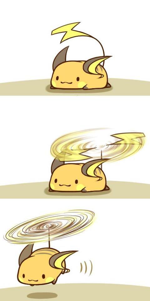 Mini Chibi Raichu Adventures 8 (Pokemon)