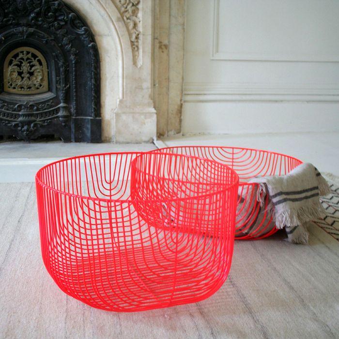 Oversized Wire Baskets