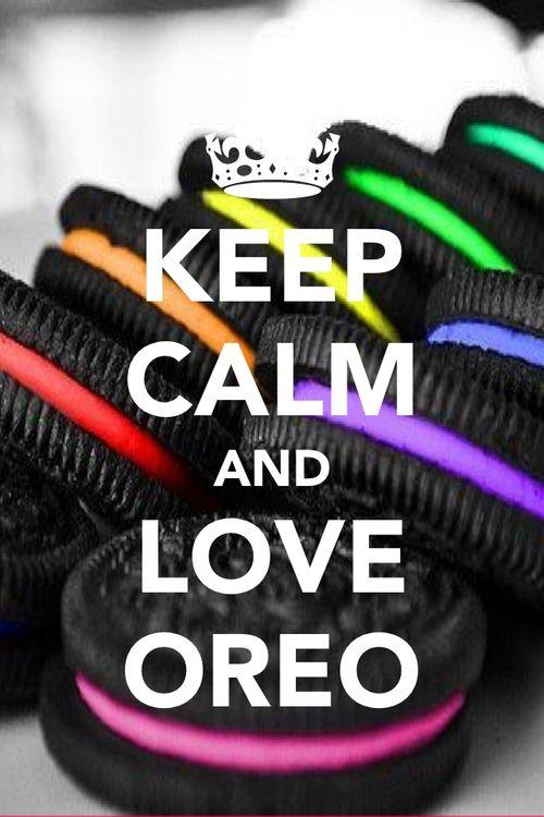 Luv Oreos- Keep Calm Quote