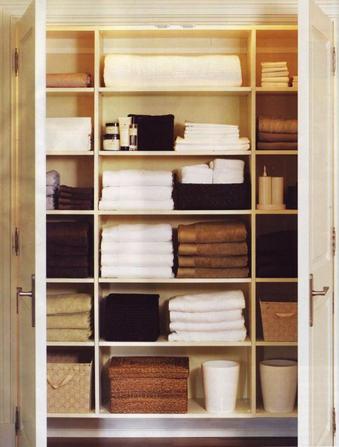 And the ultimate linen closet