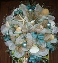 Deco Mesh SHABBY CHIC BEACH Wreath