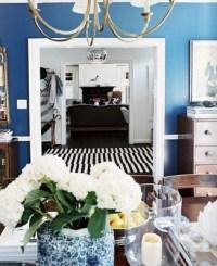 Ralph Lauren blue and white | living room. | Pinterest