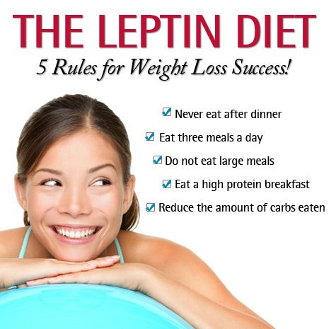 The Leptin Diet 5 Rules. The Leptin Diet is the secret to getting more energy fr