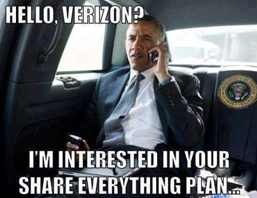 Hello Verizon? I'm interested in your Share Everything plan.