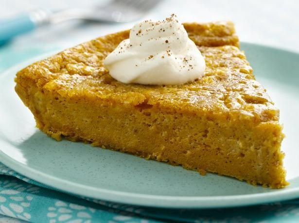 Impossibly Easy Pumpkin Pie…….this is one of my go to desserts.  Delicious!!
