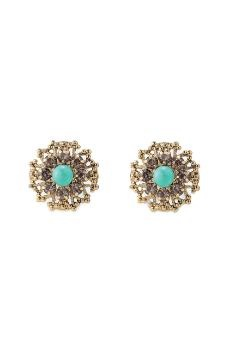 Stella & Dot Marchesa Studs reminds me of the earrings my grandmother gave me wh