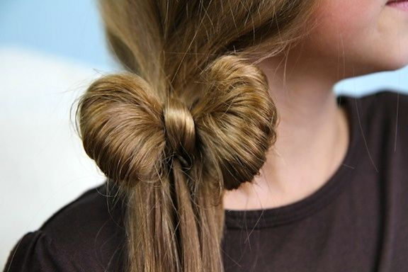 Beautiful Side Ponytail Hair Bow