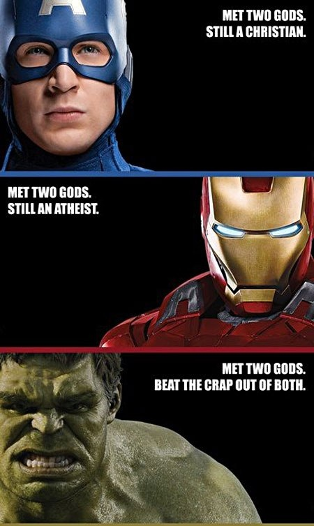 And this is why Avengers is just that fantastic.