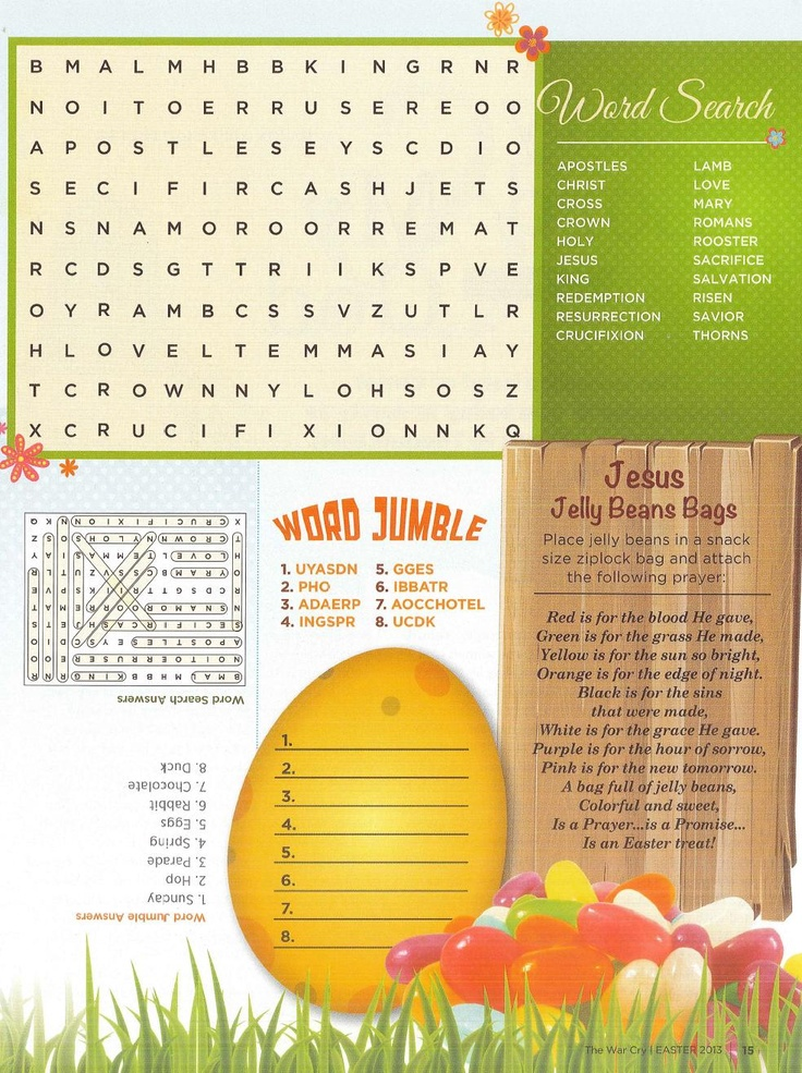 These word games are a great way to keep kids occupied during #Easter day travel