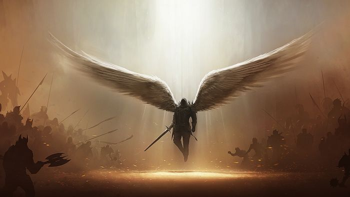 fallen angels… fallen and ready for war,