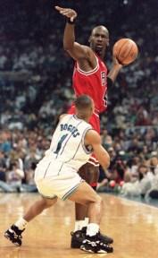 Michael Jordan y Muggs