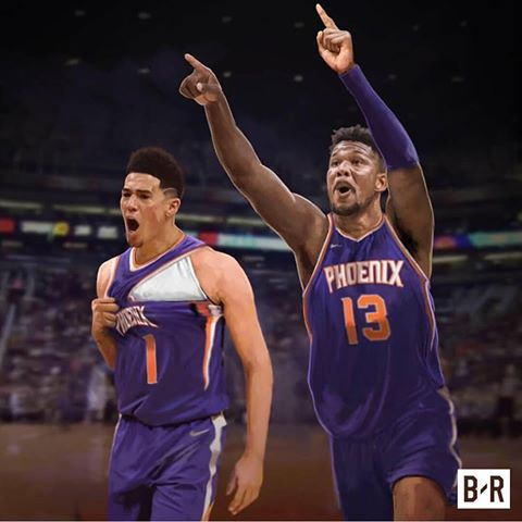 Ayton and Booker