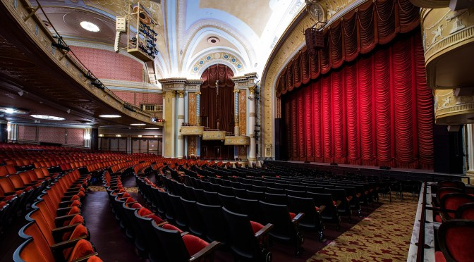 The recently restored State Theatre