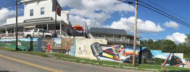 a long-lasting mural created with Resilience Paint