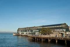 Seattle Aquarium located on Pier 59 over Puget Sound