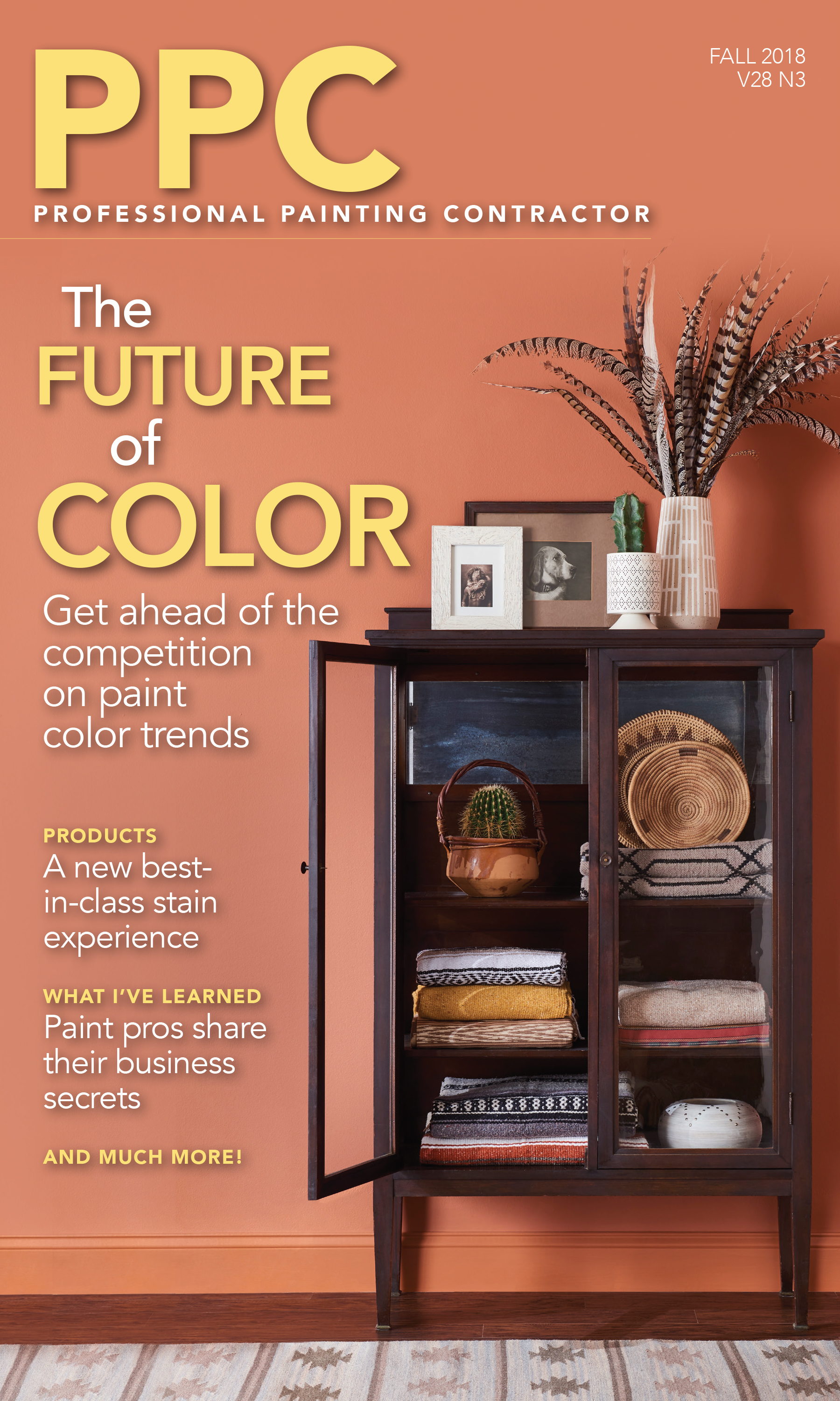 cover of fall 2018 issue of PPC magazine