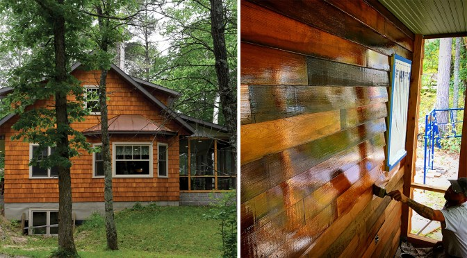 Best of Both Worlds: Creating A Lived-In Look for a New Cabin in Minnesota's Northwoods