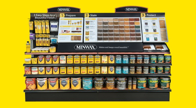 Faster, Easier: A New Interior Stain Experience from Minwax