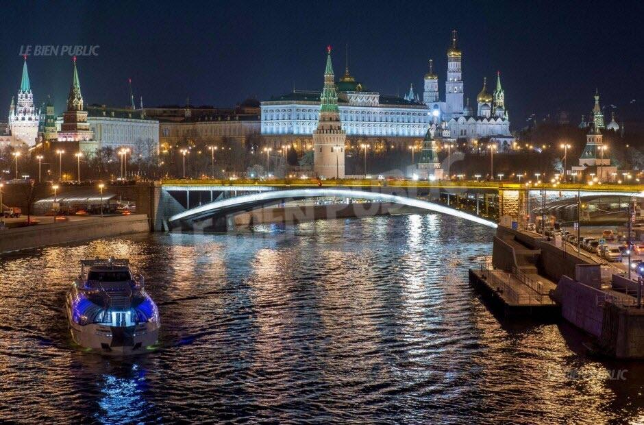 Le Sénat américain accuse le Kremlin d'être activement impliqué dans la présidentielle française. Photo AFP