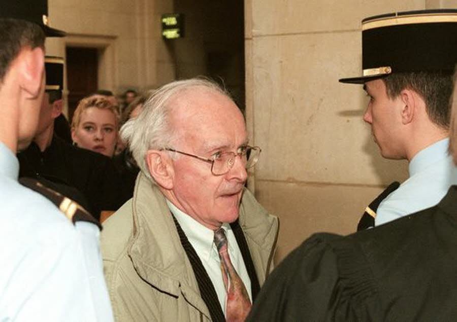 Robert Faurisson, le 27 février 1998. Photo AFP