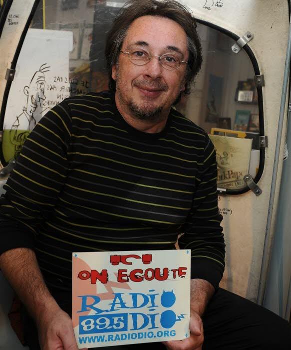 Avec plus de 800 émissions à son actif, Gérard Girard  est l'une des plus ancienne voix de Radio Dio /Philippe Vacher