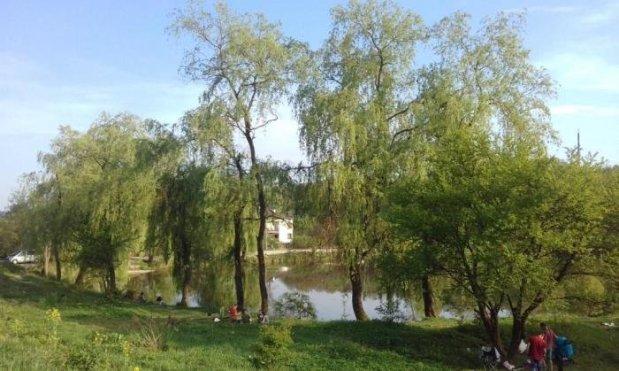 Озеро Стосіка у Львові, фото з мережі