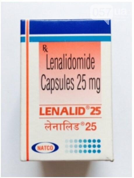 Lenalid 25 mg tablets