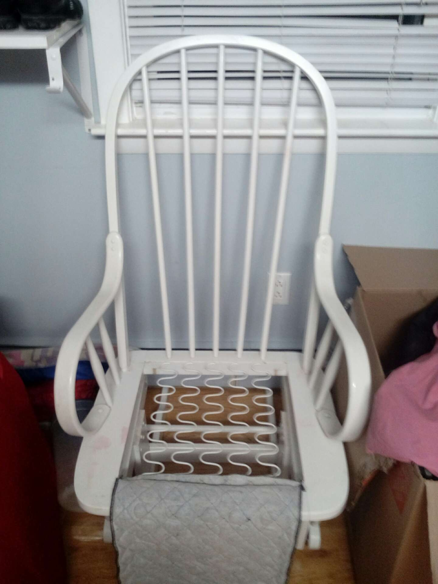 toys r us rocking chair canada lawn chairs at walmart white tuscany glider made in for sale