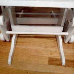 White Wooden Rocking Chair Canada Cheap Game Tuscany Glider Made In For Sale