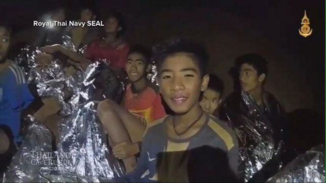 VIDEO: Thai cave rescue: The moment divers learned their mission was a go
