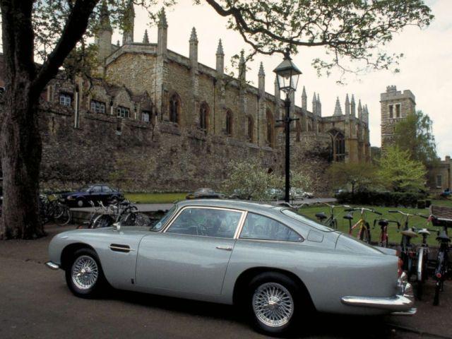PHOTO: An original Aston Martin DB5