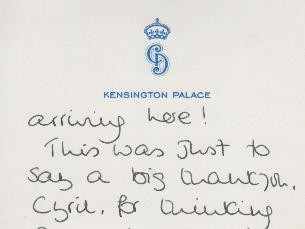 Handwritten Princess Diana Letters About William and Harry