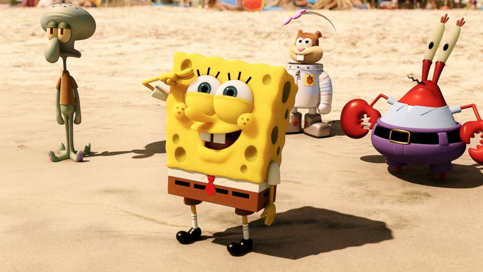 Movie Review: 'The SpongeBob Movie: Sponge Out of Water ...