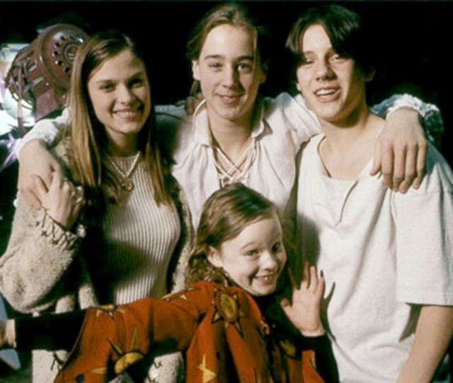 Photo The Cast Of Hocus Pocus Behind The Scene While On Set