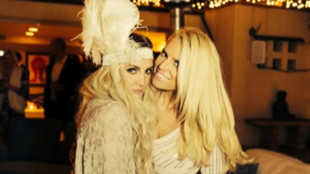 Ashlee Simpson Gushes Over Her Stunning Bridesmaids Dress for Jessicas Wedding  ABC News