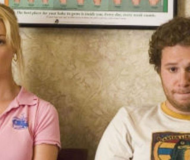 Photo Katherine Heigl And Seth Rogen Are Seen Here In A Scene From Knocked