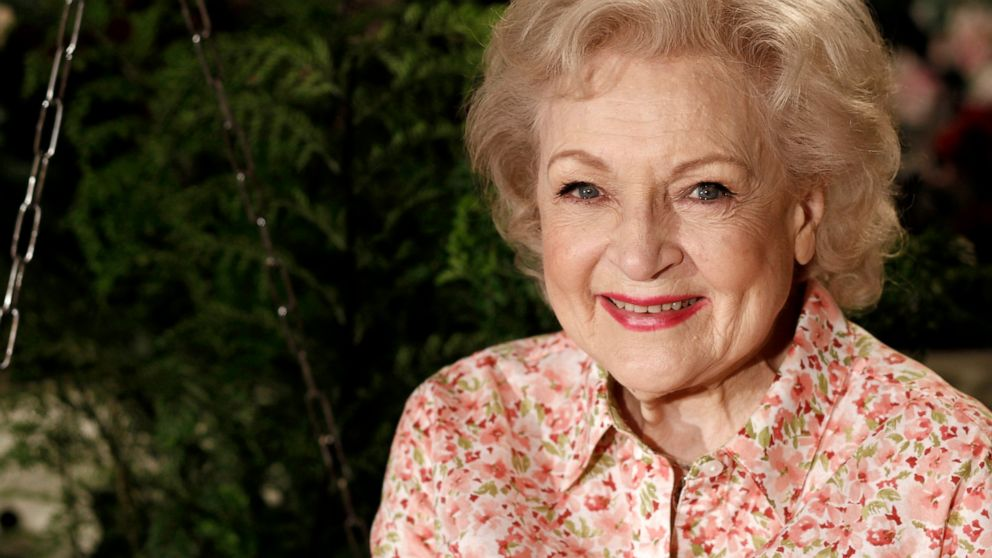Betty White marks 99th birthday Sunday by staying up as late as she wants