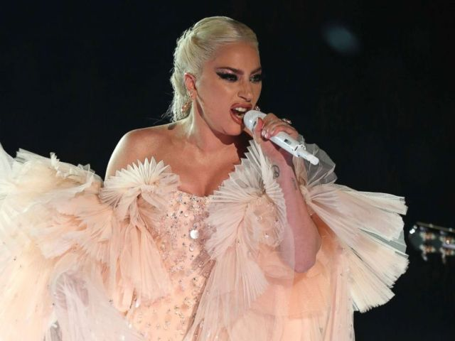 PHOTO: Lady Gaga performs onstage at the 60th annual Grammy Awards at Madison Square Garden on Sunday, Jan. 28, 2018, in New York.