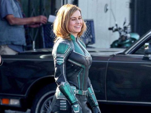 PHOTO: Brie Larson in the 2019 movie Captain Marvel.