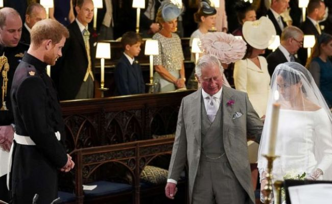 A Look At The Unforgettable Moment Prince Charles Walked