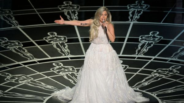 Oscars 2015 How Lady Gaga Celebrated Epic 39Sound of Music