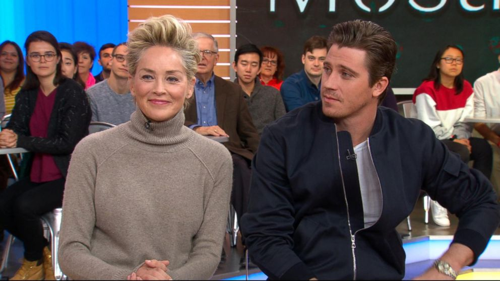 Sharon Stone and Garret Hedlund open up about Mosaic Video  ABC News