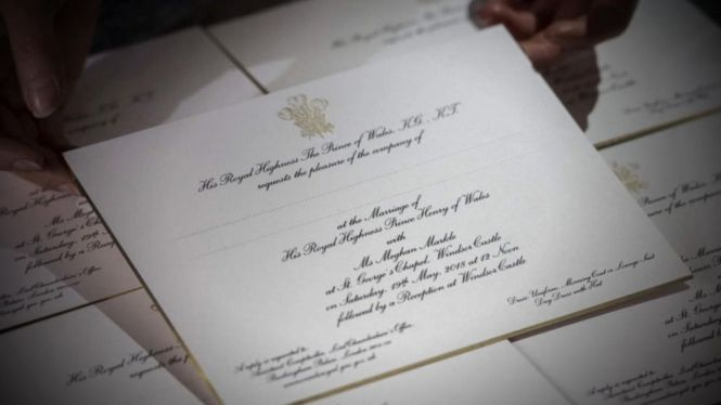 Gilded Royal Wedding Invitations Video