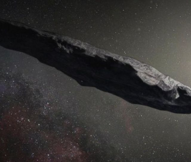 Astronomers Claim Mysterious  Foot Object Could Be Alien