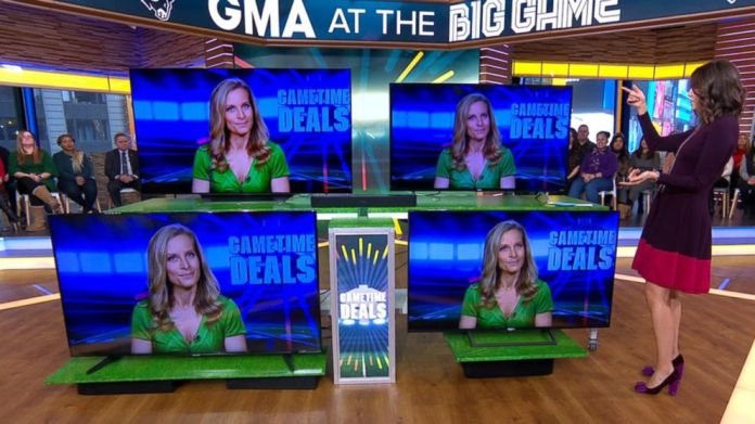 The Best Big Screen Tv Deals In Time For Super Bowl Sunday Video Abc News